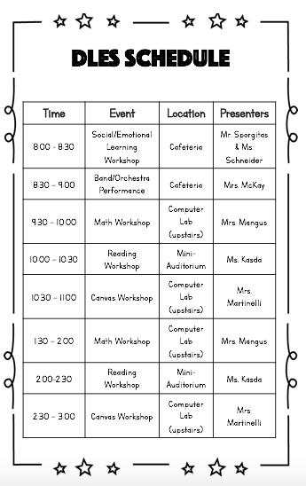 DLES Schedule